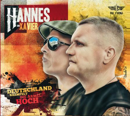 Mini-CD Hannes und Xavier Naidoo Deutschland krempelt die Ärmel hoch Digipack Versandkostenfrei