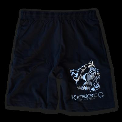 Kategorie C Short schwarz Wolf