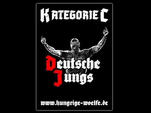 Deutsche Jungs Aufkleber-Set 10 Stück