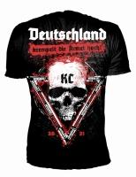 Shirt Deutschland krempelt die Ärmel hoch