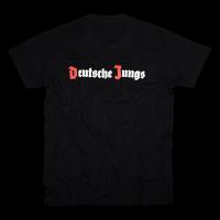 Shirt Deutsche Jungs schwarz