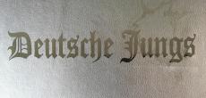 Aufkleber Deutsche Jungs schwarz Transparent
