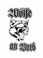 Wölfe an Bord Aufkleber